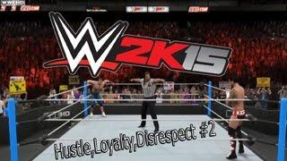 PS4/WWE 2k15 - Прохождение на Русском языке #2