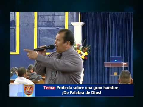 Profecía Sobre Una Gran Hambre, Pastor Rafael Rodriguez 01 24 2015