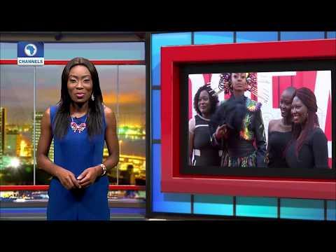 "Osas Ighodaro Is Top SHOW STOPPER At ""Met Gala"" Style Premiere   EN  "