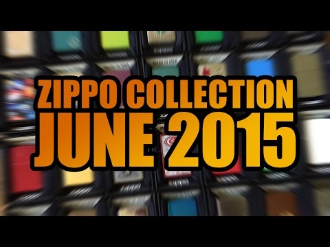 Zippo Collection Showcase June 2015