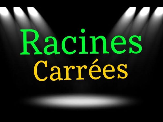 RACINES CARRÉES : SIMPLIFICATION (exercices corrigés maths)