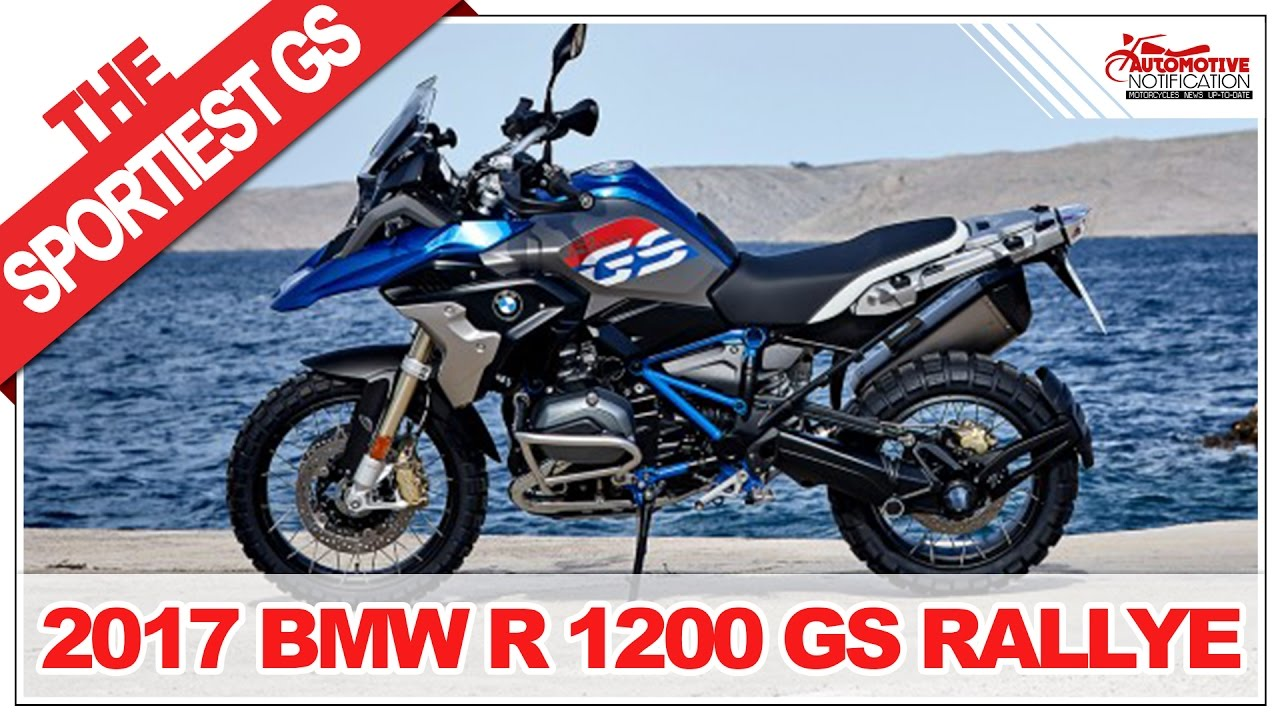 it 39 s wow 2017 bmw r 1200 gs rallye price specification review youtube. Black Bedroom Furniture Sets. Home Design Ideas