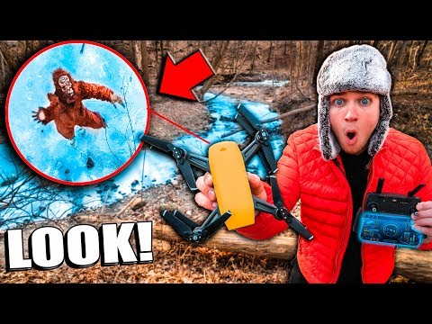 BIGFOOT Caught On DRONE In Real Life (Sasquatch Evidence)