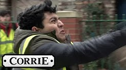 Aadi Gets into A Fight Over Asha's Video | Coronation Street