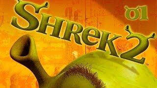Shrek 2: Team Action - Прохождение pt1