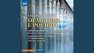 Demetrio e Polibio, Act I: All'alta impresa tutti (Live)
