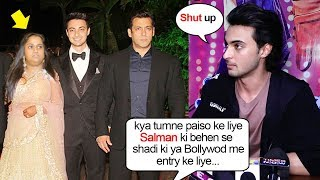Ayyush Sharma's SHOCKING Reaction When Asked Why He MARRIED Salman Khan's Sister Arpita Khan