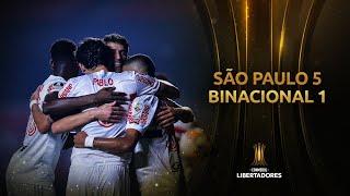São Paulo vs. Binacional [5-1] | RESUMEN | Fase de Grupos | CONMEBOL Libertadores 2020