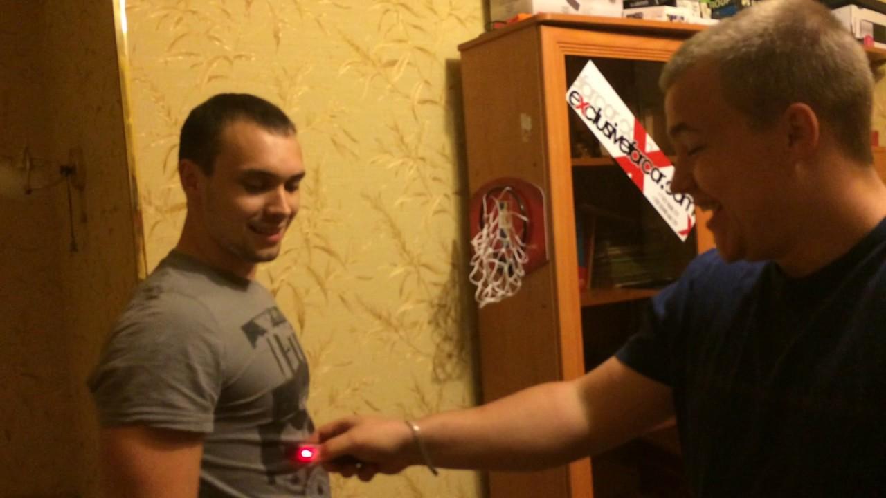 Электрошокер - испытание на человеке эпизод 1 (Начало)