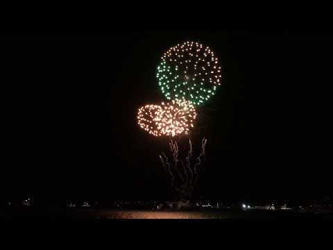 Australia beat Honduras 2017 - Sydney Harbour Fireworks