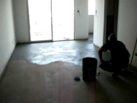 Colocando cemento alisadoestas youtube - Como hacer cemento ...