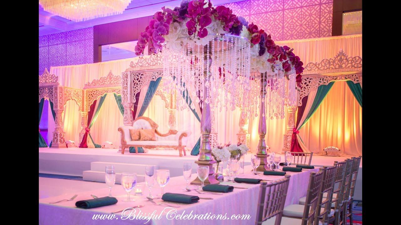 Wedding Decorator in Dallas Mandap Blissful Celebrations - YouTube