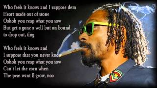 Repeat youtube video Snoop Lion - La La La (Lyrics)