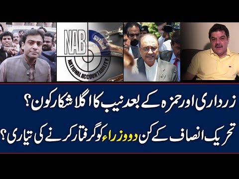 After Zardari & Hamza , Two Of PTI Ministers On NAB's Radar..??