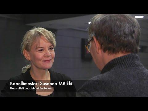 Susanna Mälkki opetusvierailulla Sibelius-Akatemiassa