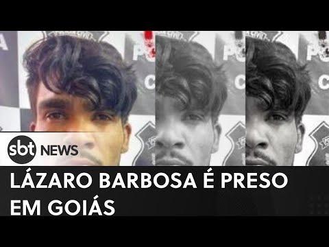 Vídeo do Killer Lázaro Barbosa preso e morto pela policia - 2021