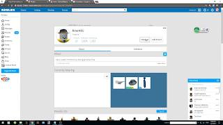 Short video of how to PM users via ROBLOX Messaging