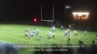 Highlights from Kalama's 32-26 win over La Center