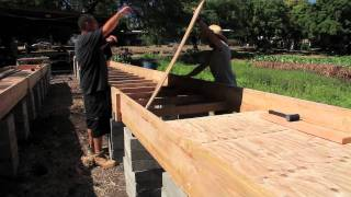 Aquaponic Grow Bed Construction