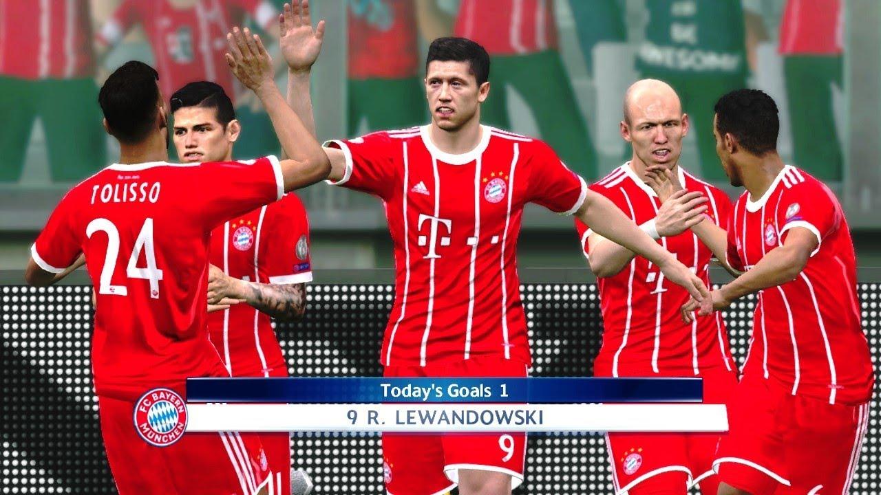Bayern Munich vs PSG 3-0 | UEFA Champions League 2017/18 ...