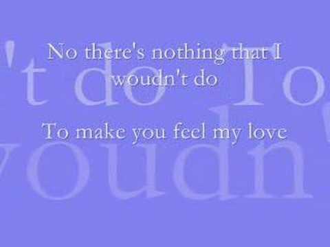 To Make You Feel My Love - Josh Kelley with lyrics