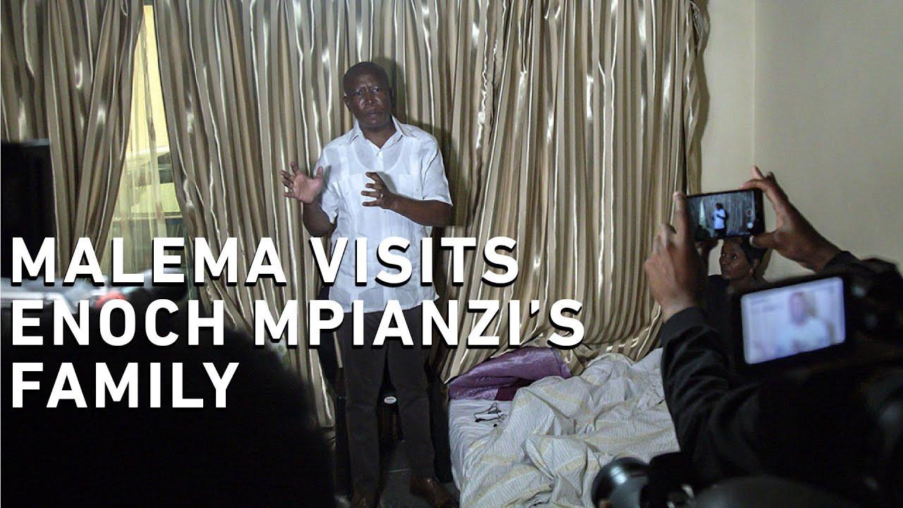 EFF assembles top legal team for Enoch Mpianzi's family - Eyewitness News
