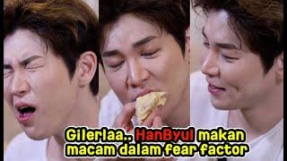 Download lagu HanByul Makan DURIAN?! DAEBAK LAH! // The CubaShow With HanByul
