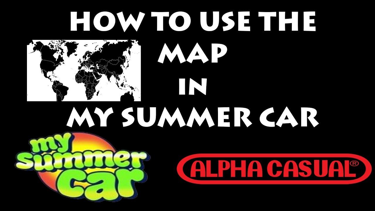 New My Summer Car Map