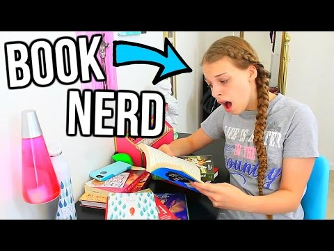 Things Only Book Nerds Understand! Book Nerd Problems! || Chloe's Crazy Life 2016