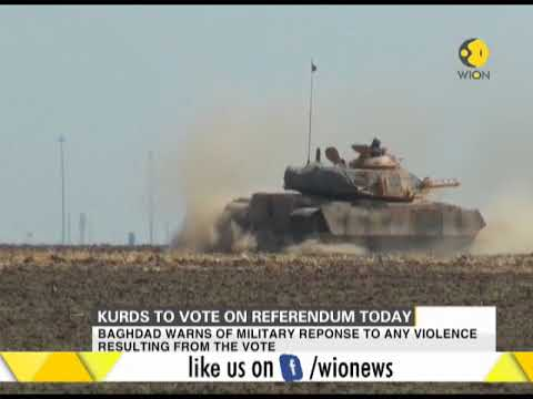Iraq's Kurds to vote today in referendum to support independence