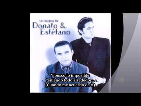 Donato y  Estefano Mi Dios y mi Cruz Karaoke