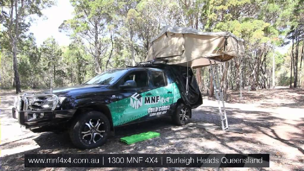 4x4 Roof Tents & Roof Top Tent 4WD Rip Stop Canvas With ...