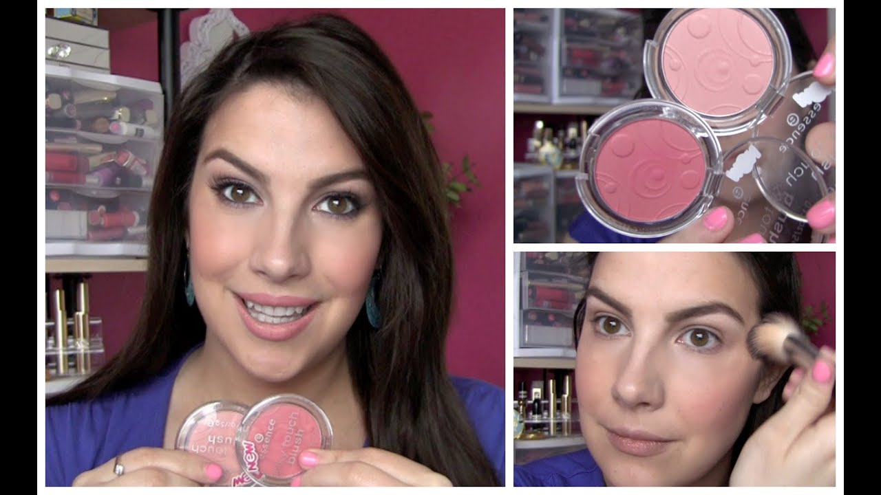 Essence Silky Touch Blush Review Youtube