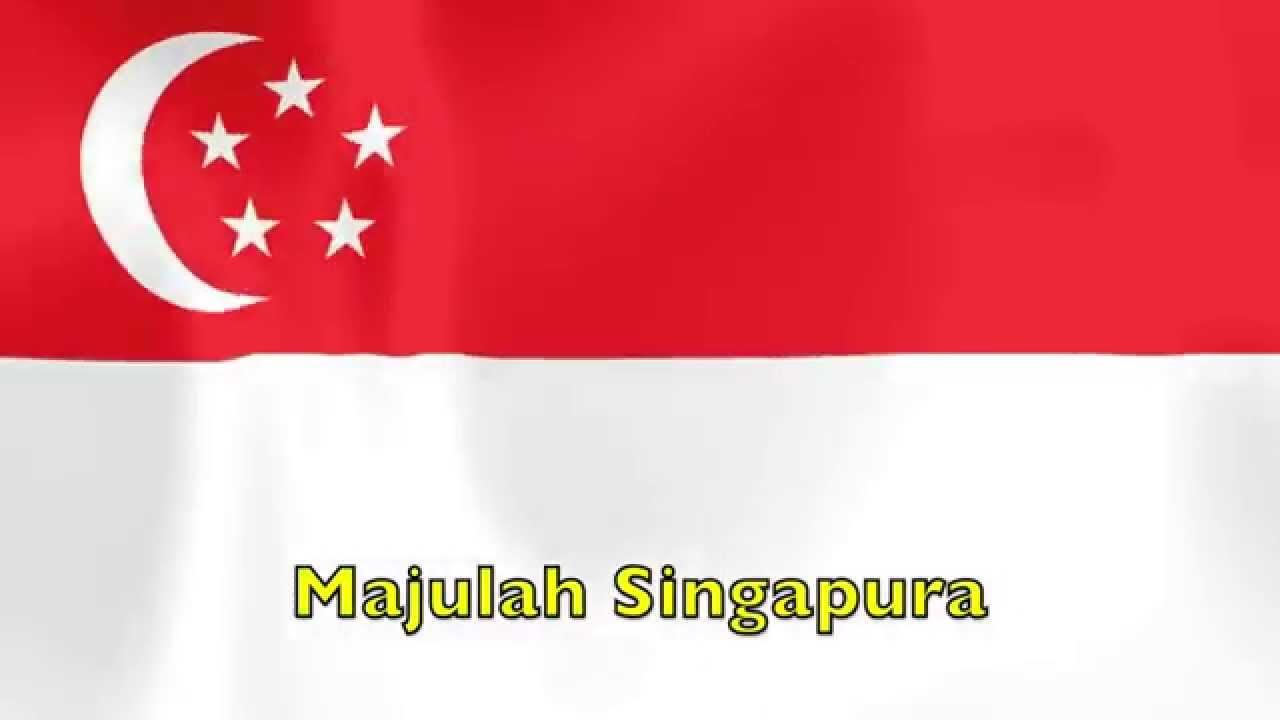 Majulah Singapura Singapore S National Anthem Youtube
