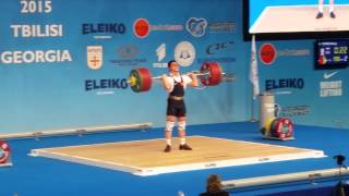 YUFKIN Alexey 198kg C&J EWC Tbilisi - Georgia