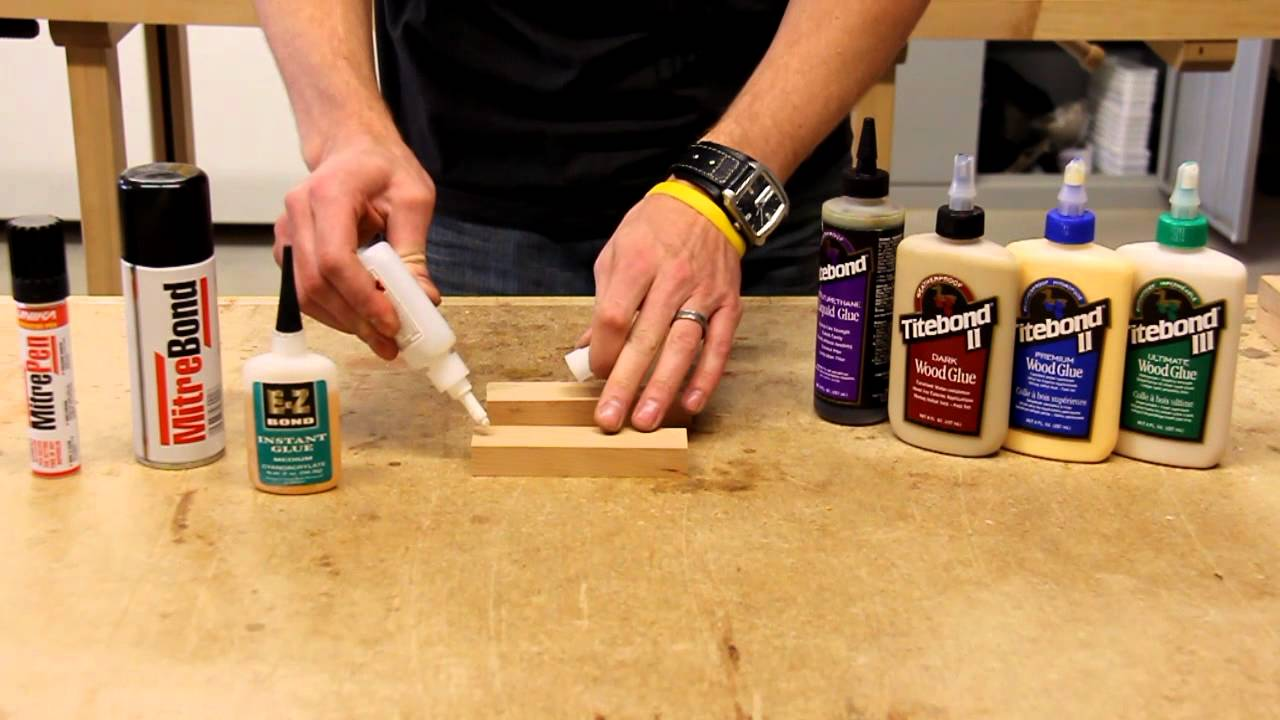 Using Ca Glue And Titebond Wood Glue Together Youtube