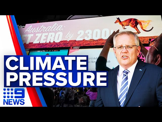 Scott Morrison to attend climate summit | 9 News Australia
