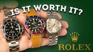 Rolex Watches: Are They Worth It? Men\'s Watch Review - Datejust, Submariner, GMT Master
