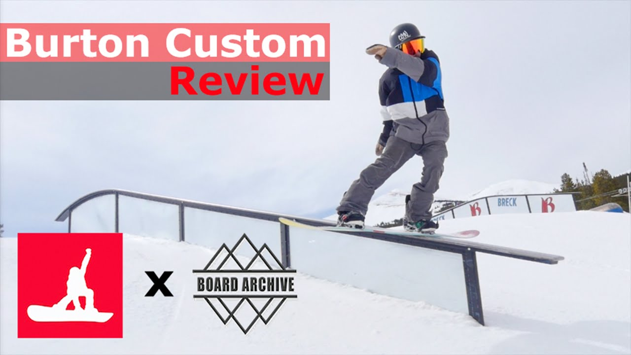 f1757f15d66a Burton Custom Flying V Snowboard Review - YouTube
