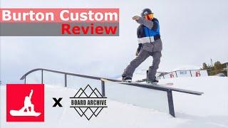 Burton Custom Flying V Snowboard Review