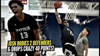 Josh Christopher BODIES 2 DEFENDERS & Drops CRAZY 40 POINTS! Mayfair Advances To Championship!