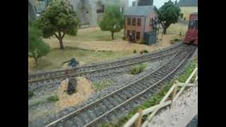"""layout update: ho small switching yard (""""inglenook"""") - improved version - i think."""