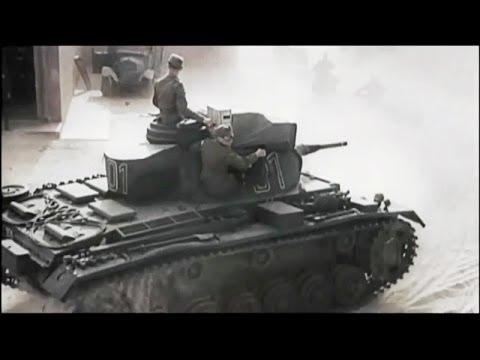 Lực lượng xe tăng khủng nhất của quân đội phát xít Đức [HD]