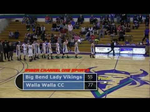 Big Bend CC Women's Basketball vs Walla Walla CC (2/18/12)