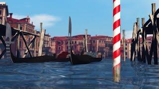 Venice's flood protection project   AFP Animé