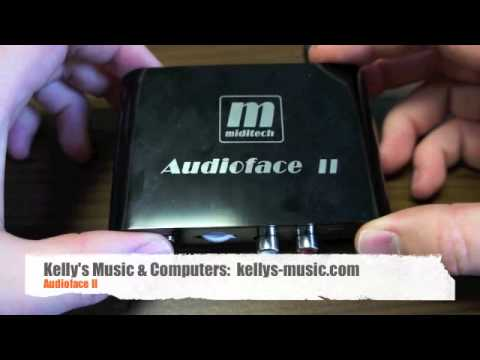audioface ii low latency usb audio interface review youtube. Black Bedroom Furniture Sets. Home Design Ideas