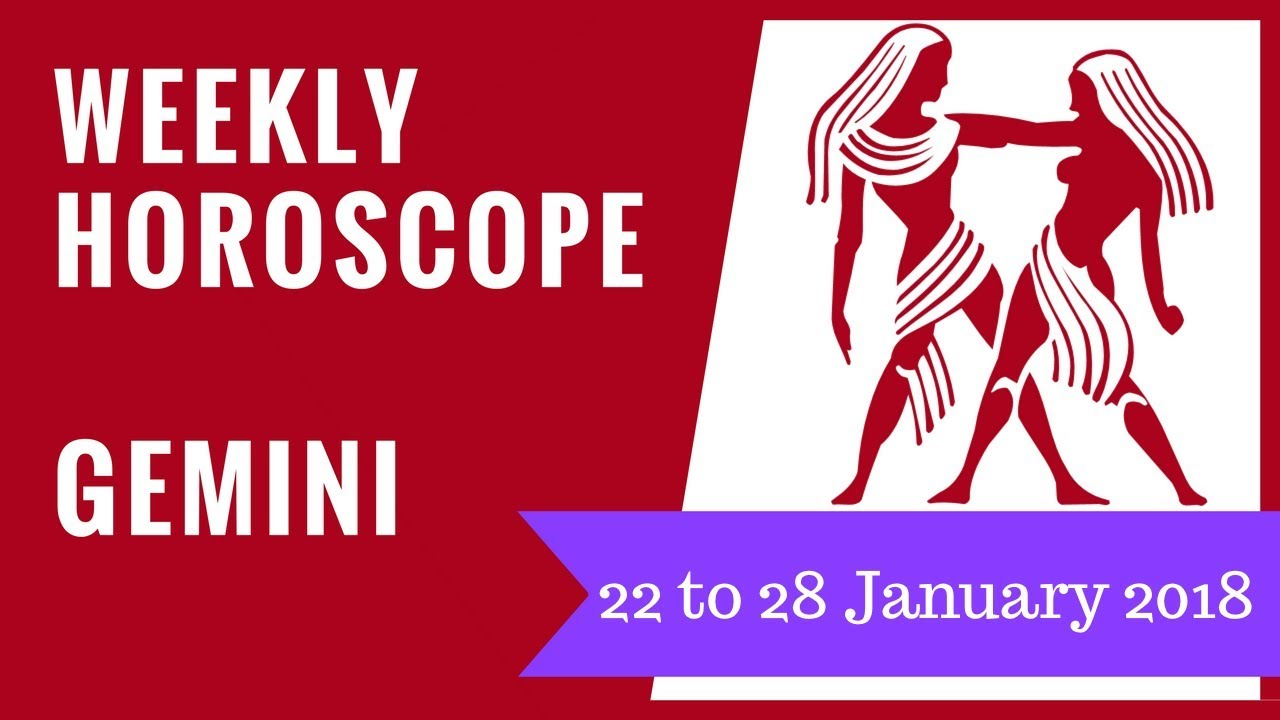 gemini weekly horoscope january 28