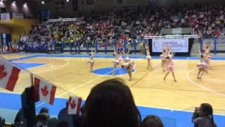 WFNBTA BATON TWIRLING WORLDS ITALY 2015- Canada Twirl Corps