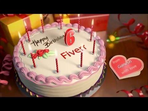 Birthday Cake With Name Ganesh ~ Birthday wishing cake youtube