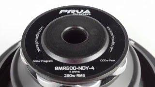 prv audio brazil 8mr500 ndy 4 8 neodymium midrange loudspeaker 250 watts rms
